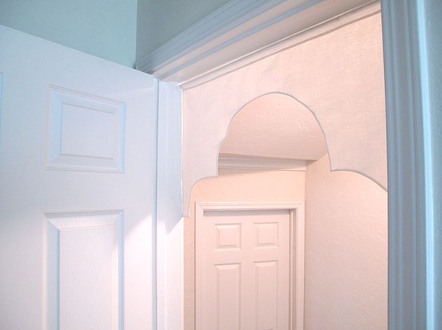 arch doorway fabric architecture