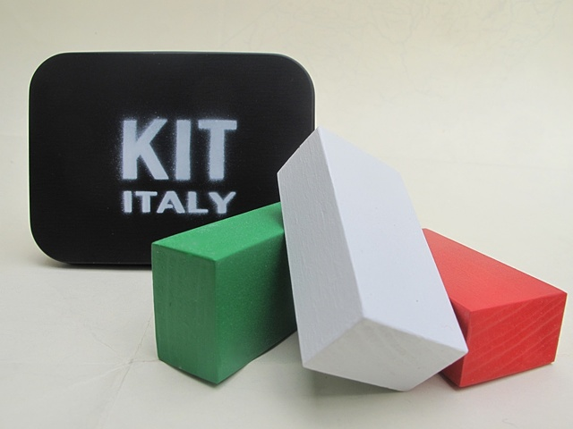 "Kit Italy from ""MakeNation"" flag kit series"