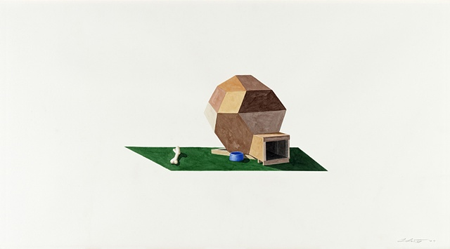 UNTITLED (BUCKY BALL DOG HOUSE)