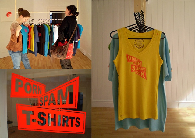 thisisnotashop, dublin, porn spam t-shirts, clive murphy