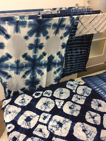 Shibori Weekend- Irresistable Indigo