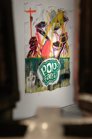 Pop Farts 2D (Installation View 2)