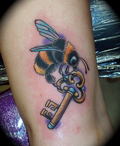 Bee with a Key