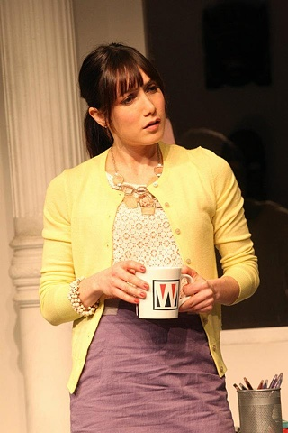 Featuring Amy Rosoff. Playwrights Horizons ASSISTANCE Photos by Joan Marcus