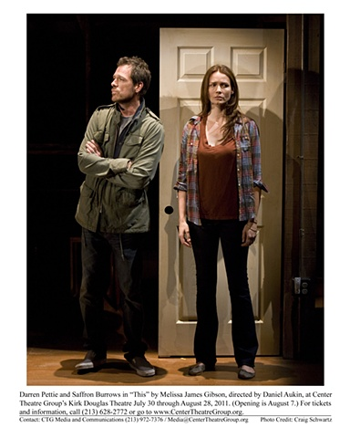 """ This"" by Melissa James Gibson, directed by Daniel Gibson. Center Theatre Group's Kirk Douglas Theatre. 2011"