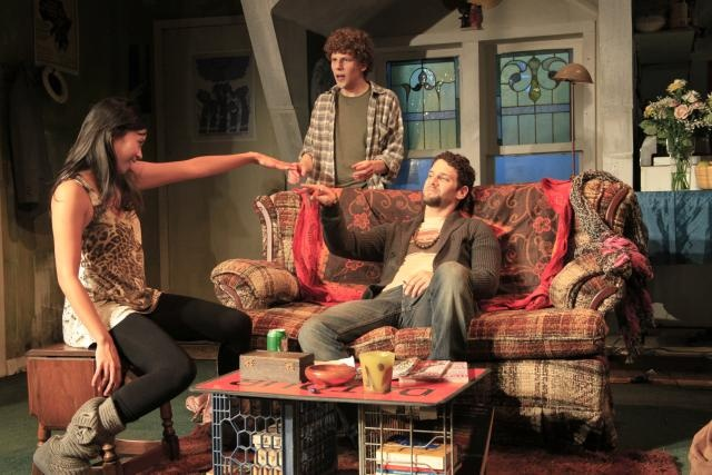 Asuncion Written by Jesse Eisenberg. Directed by Kip Fagan. The Rattlestick Theatre. Photo by Sandra  Coudert 2011