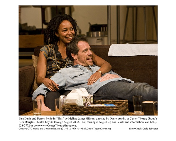 """ This"" by Melissa James Gibson, directed by Daniel Aukin. Center Theatre Group's Kirk Douglas Theatre, 2011"