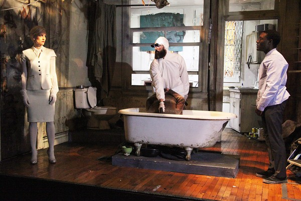 Through the Yellow Hour Written and Directed by Adam Rapp Rattlestick Playwrights Theatre