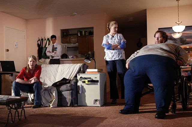 The Whale Written by Samuel D. Hunter Directed by Davis McCallum Playwrights Horizons 2012