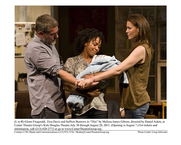 """ This"" by Melissa James Gibson, directed by Daniel Aukin. Center Theatre Group's Kirk Douglas Theatre. 2011"