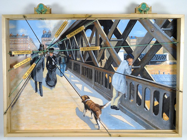 19th Century Museum Teaching Frame: After Caillebotte