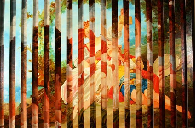 Amoureux: After Fragonard