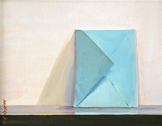 """Jo Brown, """"Gratitude,"""" oil on archival canvas board, 8"""" x 10"""" (2011"""