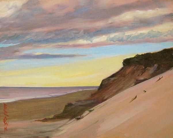 "Jo Brown, ""Vantage,""  (©2013) 8"" x 10"" oil on archival canvas board [ref#9.3.13.1] IMG_9233"