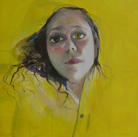 Contemporary Portrait Painting Brooke Wilkie