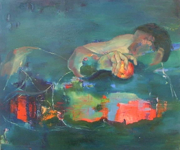 Contemporary Nude painting