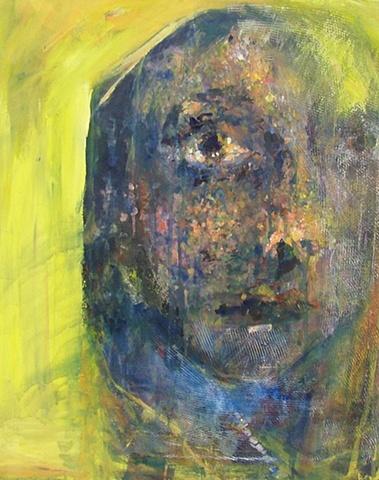 Portrait painting singer Brooke Wilkie
