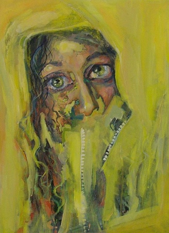 Contemporary Portrait Painting, influenced by Michael Borreman