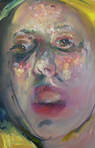 Contemporary Portrait Painting Perth, Psychological mouth, non- verbal