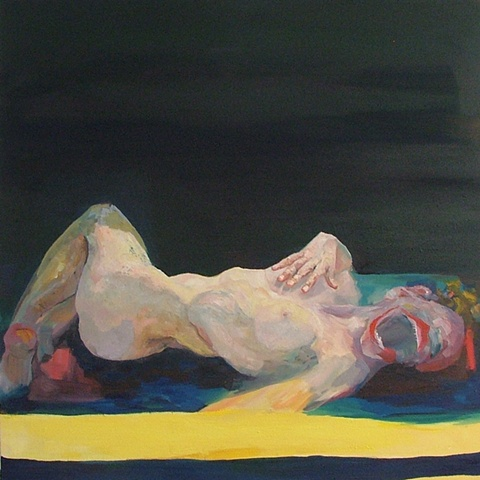 Contemporary Nude painting