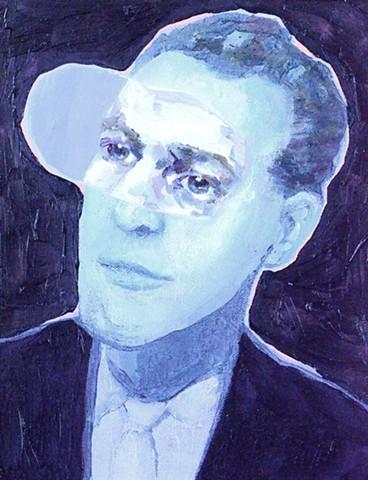 Night Vision (Hank) oil on canvas 2014