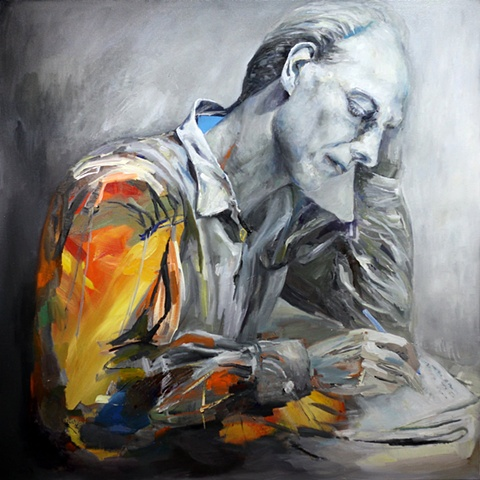 Contemporary Portrait Painting Perth, Melville Art Award, first prize