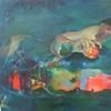 Heidi Mulder Adam's Apple Oil on Canvas 80cm x100cm