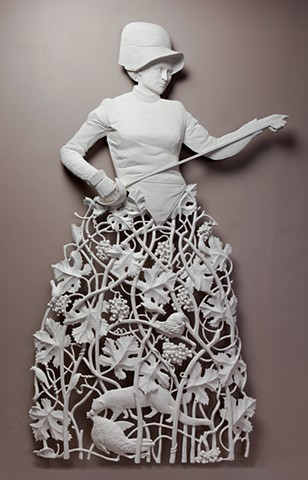 Jedediah Morfit Fine Bas Relief sculpture #artpeople