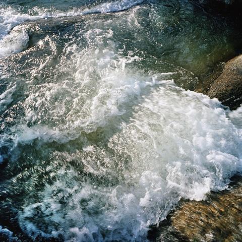 Sequoia River waves archival pigment print photograph by Chris Danes