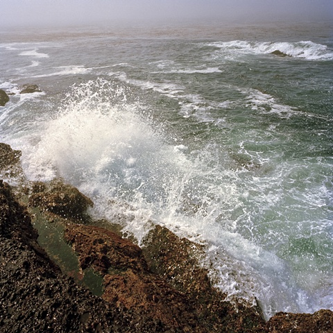 Big Sur waves archival pigment print photograph by Chris Danes