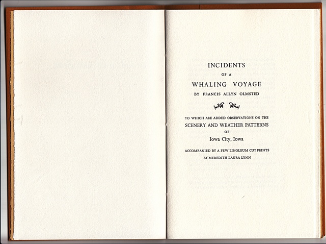 Incidents of a Whaling Voyage