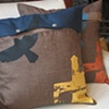 Brooklyn Hawk Pillow