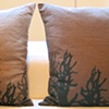 Dark Trees Euro Pillow