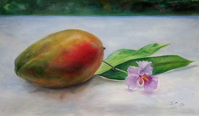 Julie Mango w/ Orchid