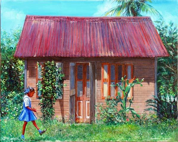 Miss Sylvian's House