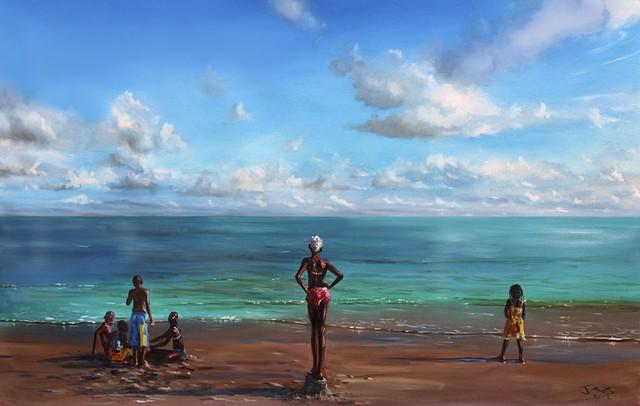 2.At the Beach