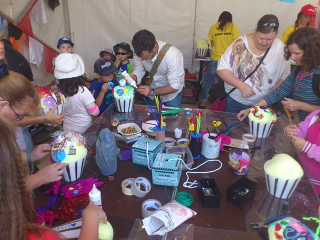 Moomba Peoples Float Workshop