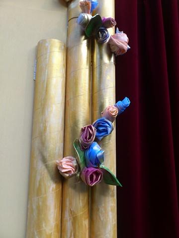 Salamanca Art's Centre birthday celebrations. The Pageant 1/4/2012. Set detail.