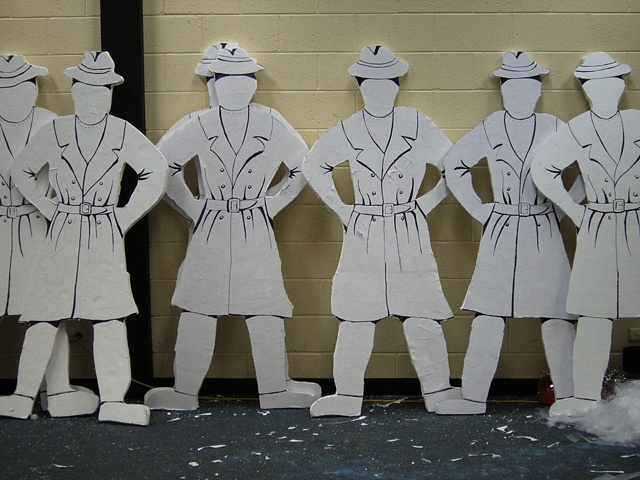 Cut Out Puppets for Bridgewater High School