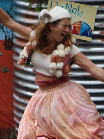 Once a Jolly Jumbuck. Matilda the Sheeep
