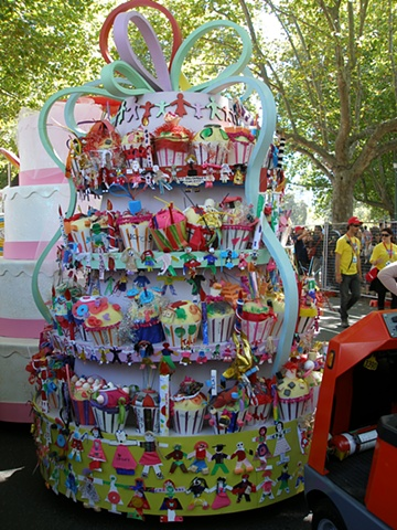 The Peoples Float for the Moomba Parade