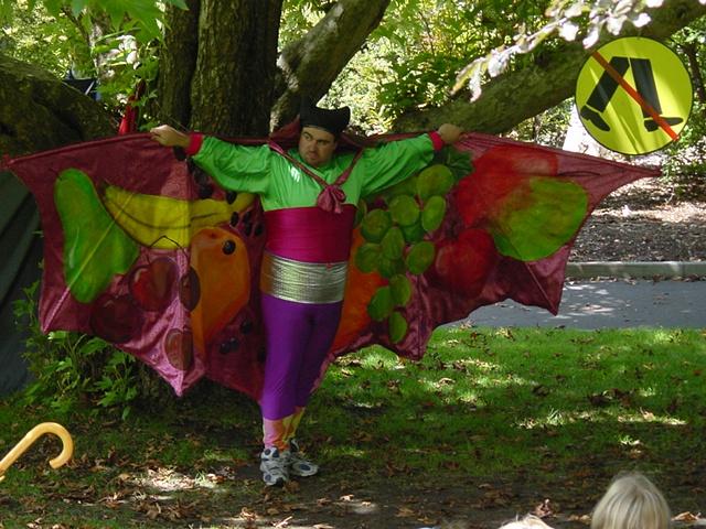 The Lizard of Oz. Fruit Bat