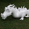 Carved Dragon for Tas Bash charity, in collaboration with Anja Reinalda