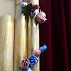Stage set detail for Salamanca Art's Centre 35th birthday celebrations.