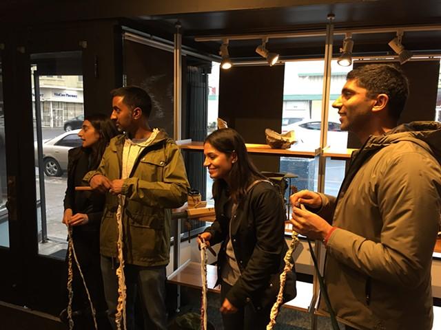 Crochet Jam, Spun Smoke, Oakland 2016 spunsmoke.com