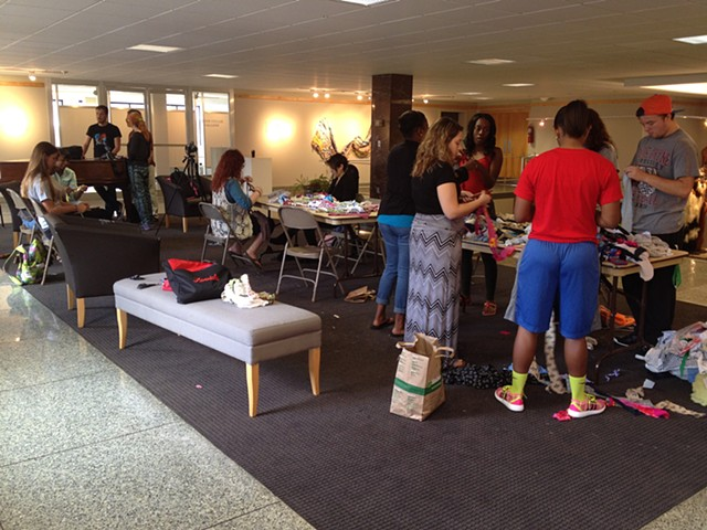 Crochet Jam, Greensboro College, Greensboro, North Carolina