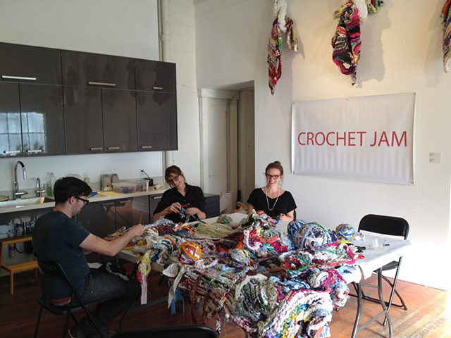 Crochet Jam, Root Division, San Francisco