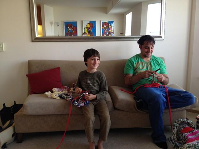 Crochet Jam, 1320 Stevenson Street, San Francisco  2013