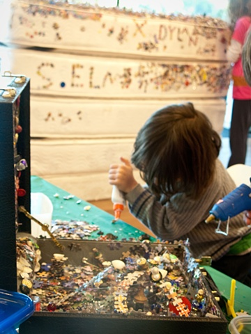 April 2012 Artist-in-Residence, de Young Museum, San Francisco 2012