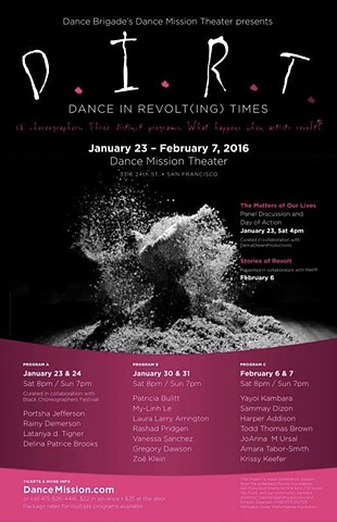 THIS, NOW., Dance In Revolt(ing) Times (DIRT), Dance Mission Theater, San Francisco